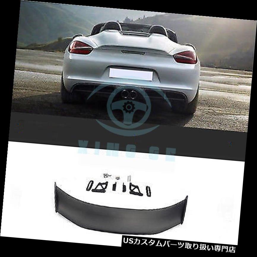 GTウィング ポルシェ981 GT4ケイマンのための後部トラックのスポイラーの翼ボディキットの工場改装 Rear Truck Spoiler Wing Body kit Factory Retrofit For Porsche 981 GT4 Cayman