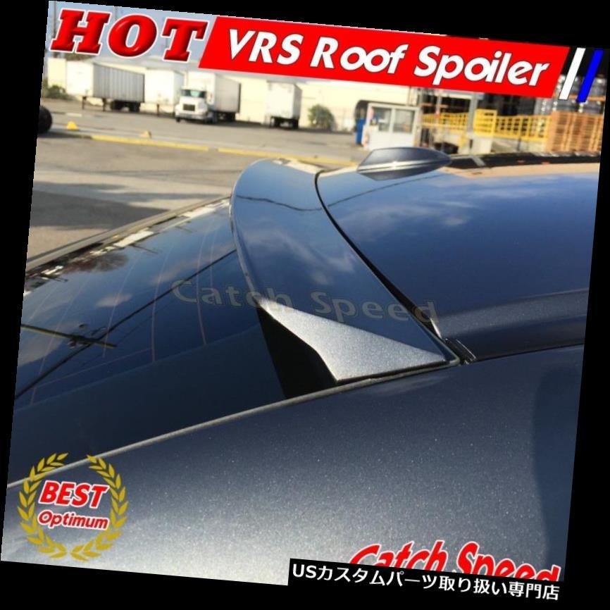 GTウィング ポンティアックG8 GT GCTセダン2008?09のための平らな黒VRSのタイプ後部屋根のスポイラーの翼 Flat Black VRS Type Rear Roof Spoiler Wing For Pontiac G8 GT GCT Sedan 2008~09