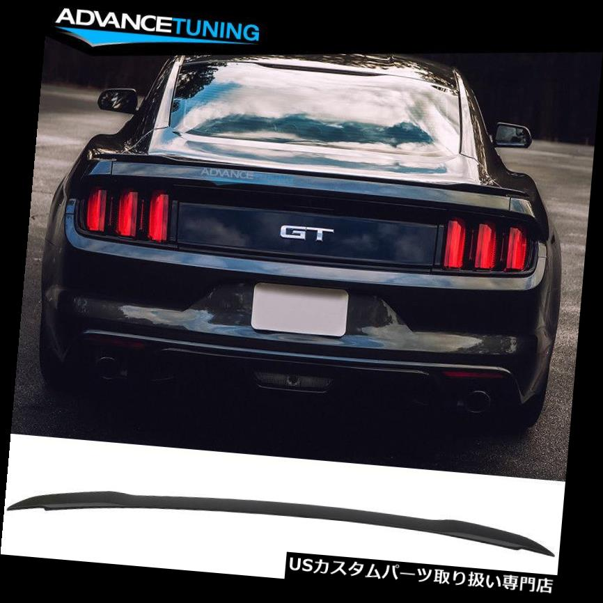 GTウィング 15-19フォードマスタングクーペ2ドアGTファクトリースタイルトランクスポイラーウィング - ABSにフィット Fits 15-19 Ford Mustang Coupe 2-Door GT Factory Style Trunk Spoiler Wing - ABS