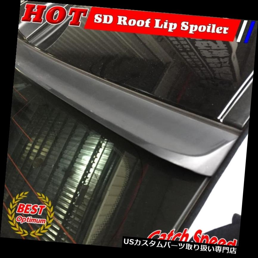 GTウィング フォードマスタングGT-500クーペ2005?14のための平らな黒いSDタイプ後屋根のスポイラー翼 Flat Black SD Type Rear Roof Spoiler Wing For Ford Mustang GT-500 Coupe 2005~14