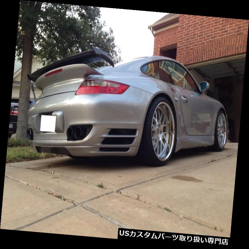 GTウィング PORSCHE 997 TURBO GT1ウィングスポイラーテールキットクーポンとCAB 2007年から2012年に追加 PORSCHE 997 TURBO GT1 ADD ON WING SPOILER TAIL KIT COUPE AND CAB 2007 TO 2012