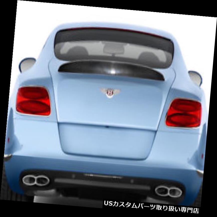 GTウィング 12-17ベントレーコンチネンタルGT AF-1エアロファンクションボディキット - ウイング/スポイル er !!! 113737 12-17 Bentley Continental GT AF-1 Aero Function Body Kit-Wing/Spoiler!!! 113737