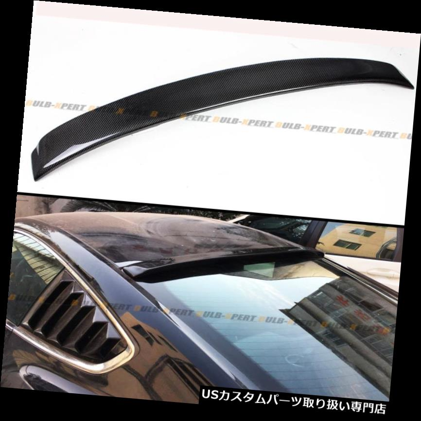 GTウィング 2015-2018フォードマスタングS550 GTカーボンファイバーリアウィンドウルーフスポイラーウイング用 For 2015-2018 Ford Mustang S550 GT Carbon Fiber Rear Window Roof Spoiler Wing