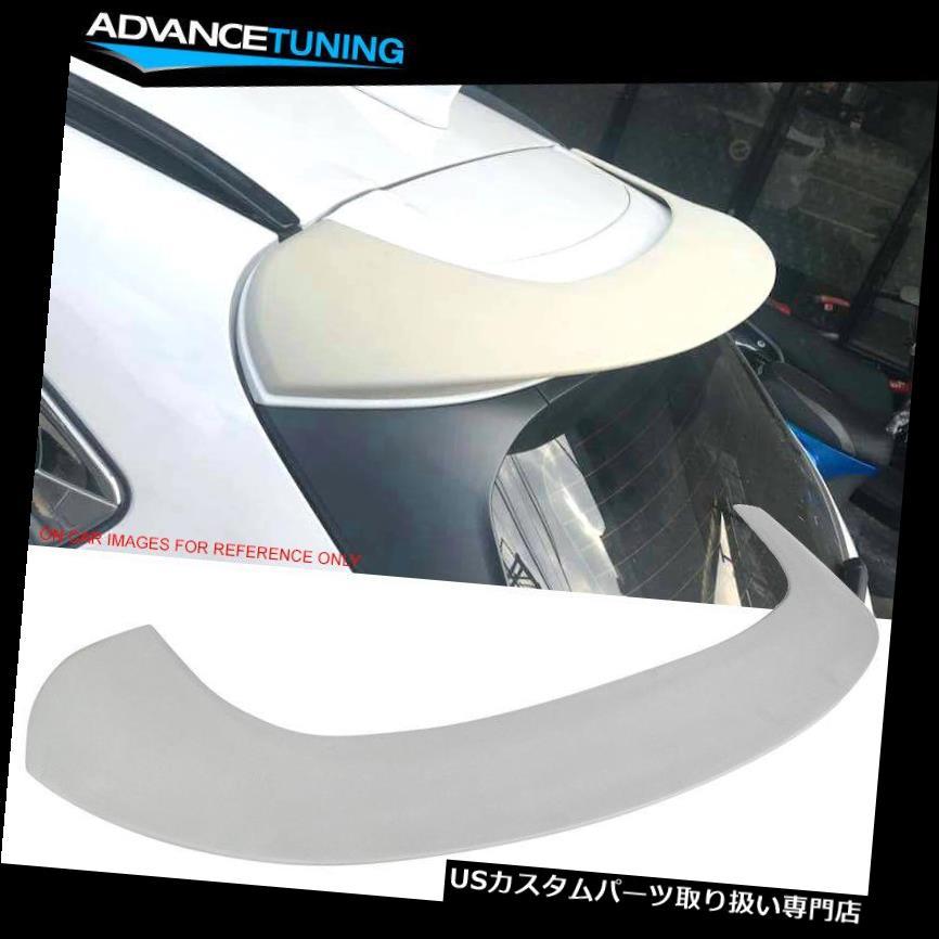 GTウィング 17-18マツダCX-5 KF第2世代SUV 5Dr IKONスタイル未塗装屋根スポイラーウイングにフィット Fits 17-18 Mazda CX-5 KF 2nd Gen SUV 5Dr IKON Style Unpainted Roof Spoiler Wing