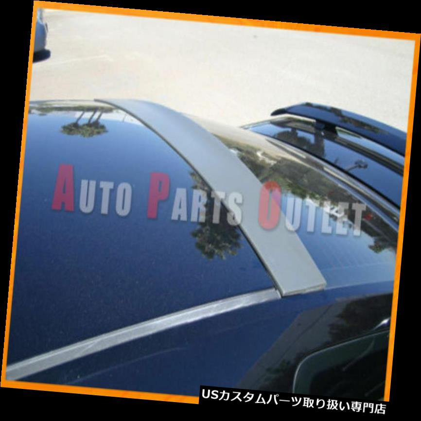 GTウィング DSR AITルーフスポイラーウイング未塗装ABS用05-12フォードマスタングシェルビーGT500 DSR AIT Roof Spoiler Wing Unpainted ABS For 05-12 Ford Mustang Shelby GT500