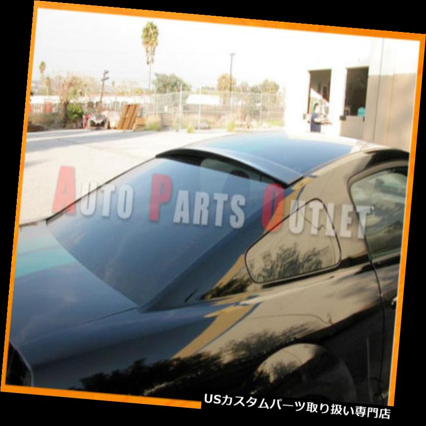GTウィング 2010-2012フォードマスタングAIT未塗装DSRルーフリップスポイラーウィングベースV6 GT 2010-2012 Ford Mustang AIT Unpainted DSR Roof Lip Spoiler Wing For Base V6 GT