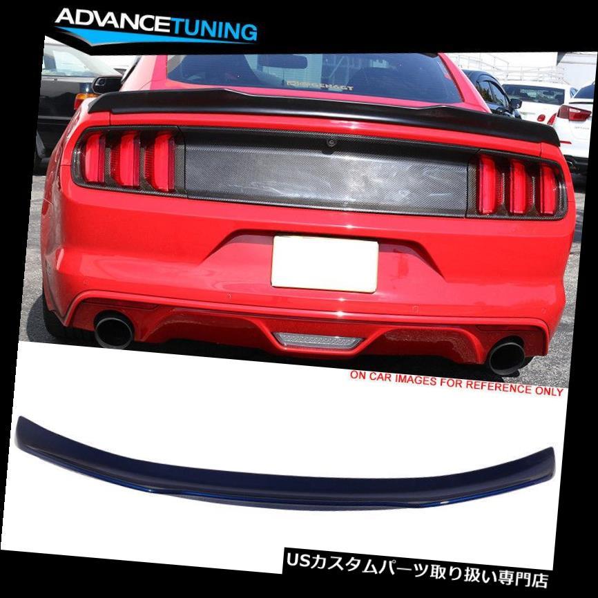 GTウィング 15-19に合うMマスタングVタイプトランクスポイラーOE塗装#J4ディープインパクトブルーメタリック Fits 15-19 Mustang V Type Trunk Spoiler OE Painted #J4 Deep Impact Blue Metallic