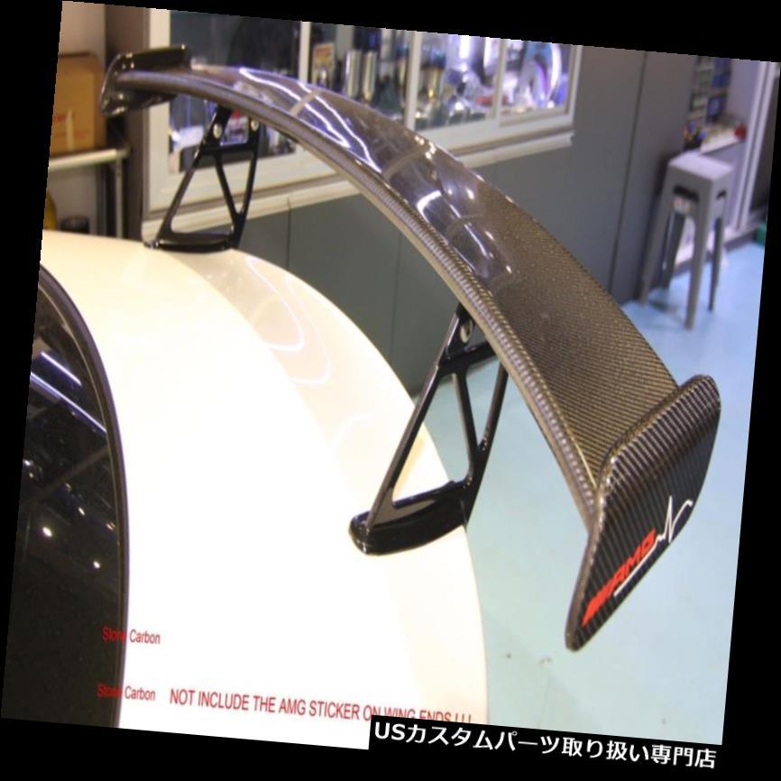 GTウィング ベンツCLAのクラスのためのカーボン繊維GTの翼のスポイラーの黒いシリーズ様式アルミニウム足 Carbon Fiber GT Wing Spoiler Black Series Style Aluminum Legs For Benz CLA Class