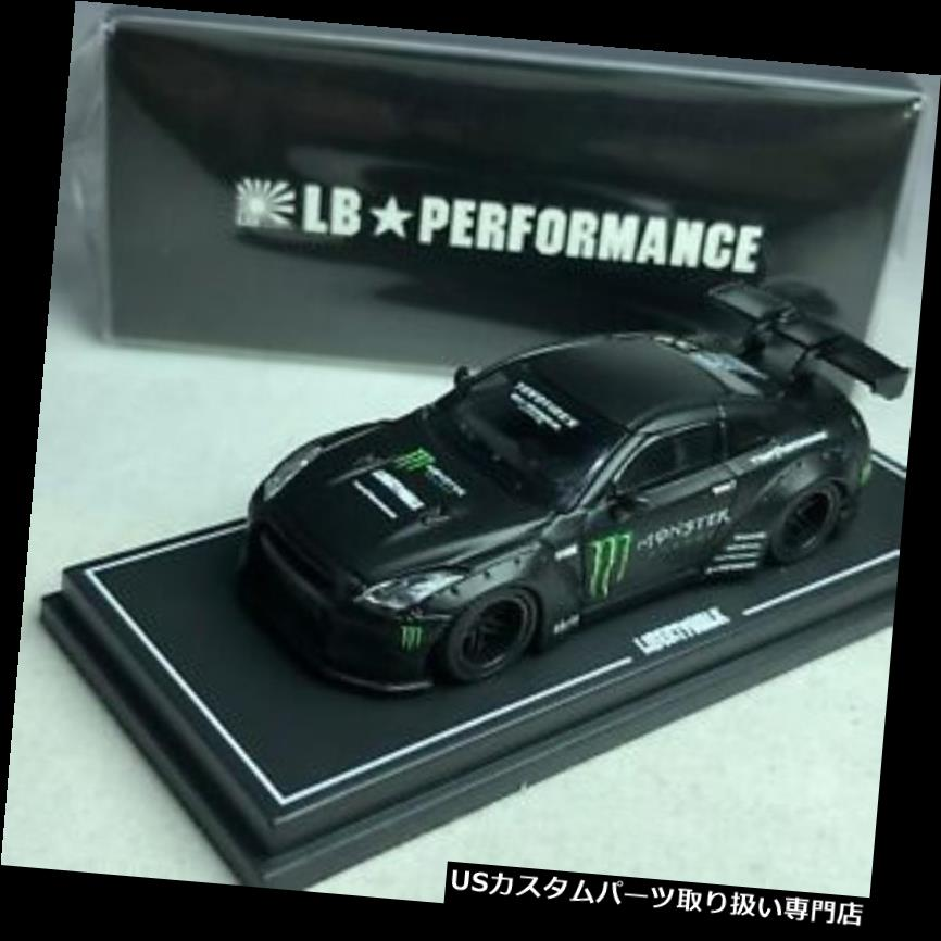 GTウィング 1/64ミニGT-R LBワークス日産GT-R R35 GTウイングモンスター台湾限定 1/64 MINI GT-R LB WORKS Nissan GT-R R35 GT Wing Monster Taiwan Exclusive