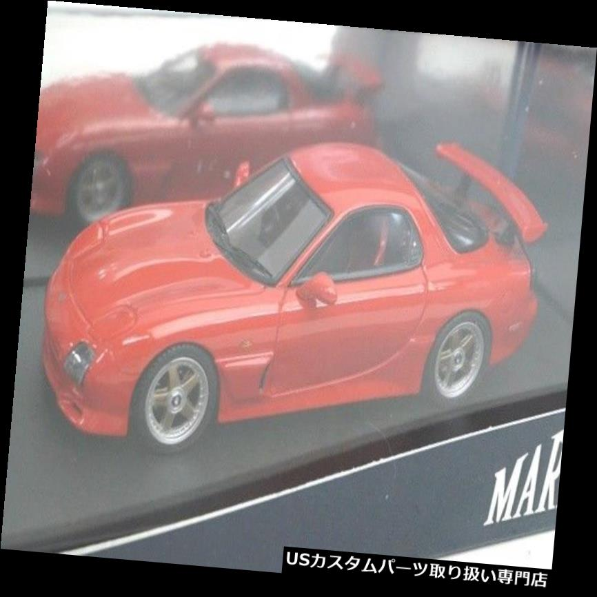 GTウィング PM4367CR MARK43 1:43マツダRX-7 FD3SマツダスピードAスペックGTウイングヴィンテージレッド PM4367CR MARK43 1:43 Mazda RX-7 FD3S Mazda Speed A-Spec GT-Wing Vintage Red