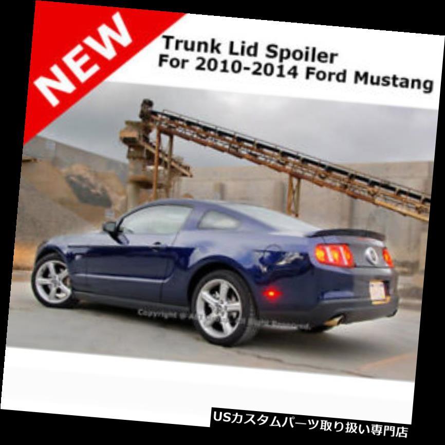 GTウィング フォードマスタングGT 10+コブラトランクリアスポイラー用レッドキャンディU6 For Ford Mustang GT 10+ Cobra Trunk Rear Spoiler Painted RED CANDY U6