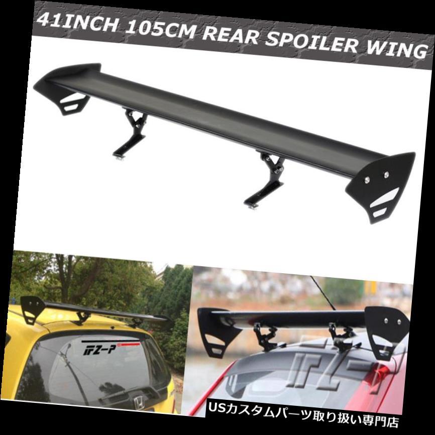 GTウィング 110CMユニバーサル調整可能車アルミ軽量GTリアレーシングスポイラーウイング 110CM Universal Adjustable Car Aluminum Light Weight GT Rear Racing Spoiler Wing