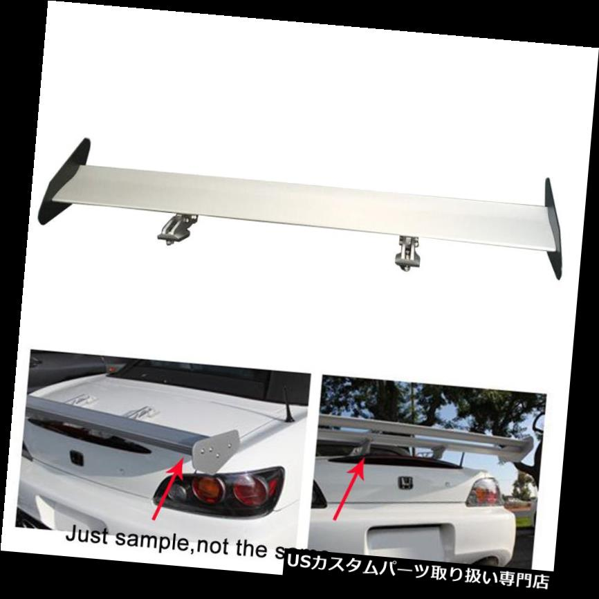 GTウィング Universel Aileron Wingアルミ製アルギアレーシングウィングGTスタイルクローム Universel Aileron Wing Aluminium R?glable Arri?re Racing Wing GT Style chrome