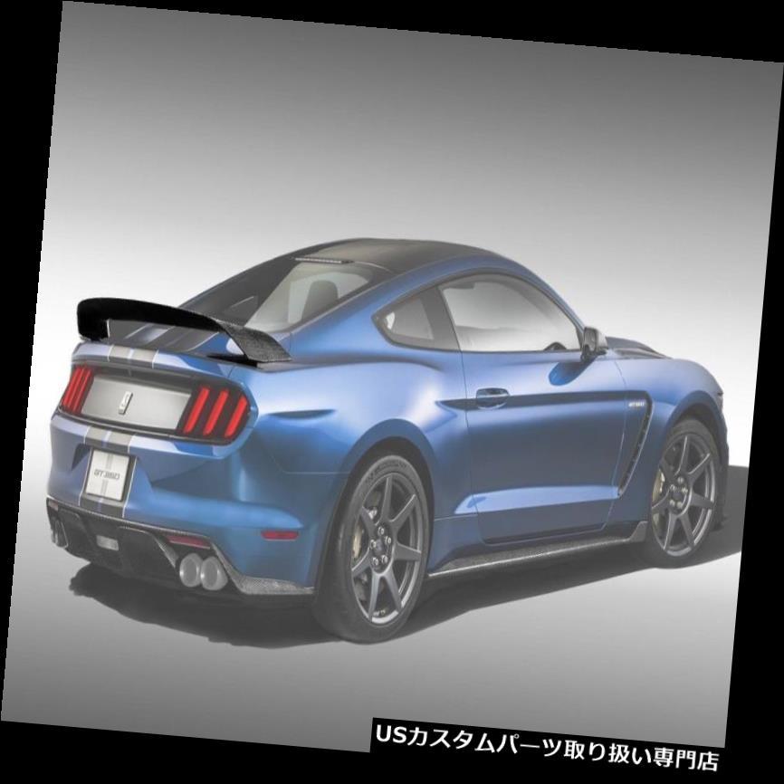 GTウィング 15-18フォードマスタングGT350Rトラックエドカーボンファイバーボディキットウイング/スポイル er !!! 660106 15-18 Ford Mustang GT350R Track Ed Carbon Fiber Body Kit-Wing/Spoiler!!! 660106