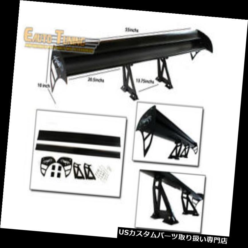 GTウィング GTウィングタイプSアルミリアスポイラーブラックfor 3シリーズ315/318/320/32  3/325 GT Wing Type S Aluminum Rear Spoiler BLACK For 3 Series 315/318/320/323/325
