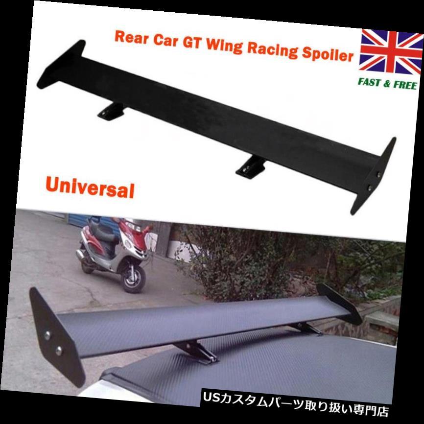 GTウィング 110cmユニバーサル軽量アルミリアカートランクGTウイングレーシングスポイラー 110cm Universal Lightweight Aluminum Rear car trunk GT Wing Racing Spoiler