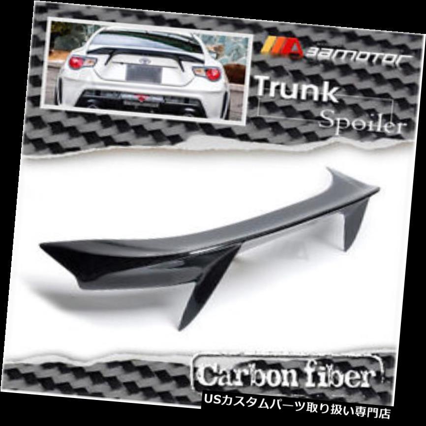 GTウィング SUBARU BRZ TOYOTA 86 GT86用カーボンファイバーABスタイルブーツトランクスポイラーウイング Carbon Fibre AB Style Boot Trunk Spoiler Wing for SUBARU BRZ TOYOTA 86 GT86