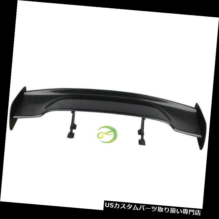GTウィング ホンダトヨタマツダフォードマスタングVW GT用3Dリアルカーボンファイバーリアウイングスポイラー 3D Real Carbon Fiber Rear Wing Spoiler For Honda Toyota Mazda Ford Mustang VW GT
