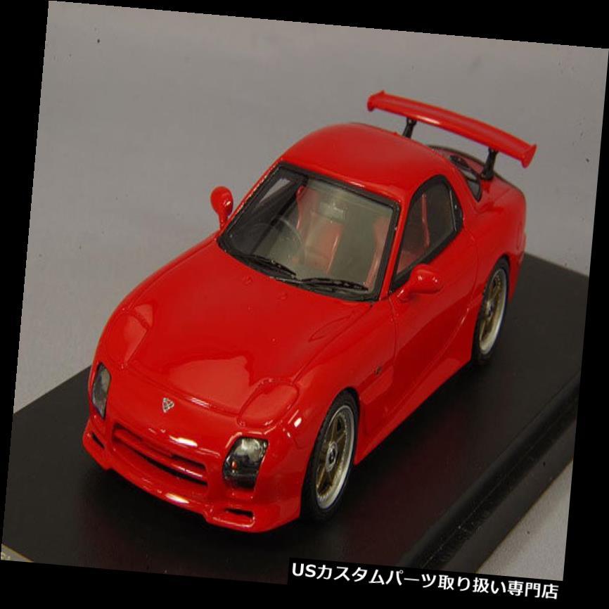 GTウィング 1/43 Mark43マツダRX-7 FD3SマツダスピードAスペックGTウイングヴィンテージレッドPM4367CR 1/43 Mark43 Mazda RX-7 FD3S Mazda Speed A Spec GT Wing Vintage Red PM4367CR