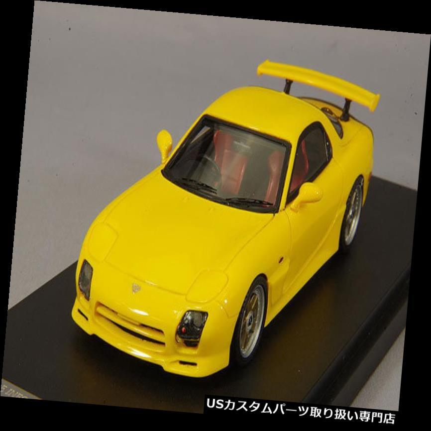 GTウィング 1/43マーク43マツダRX-7 FD3SマツダスピードAスペックGTウイングサンバーストイエローPM4367CY 1/43 Mark43 Mazda RX-7 FD3S Mazda Speed A Spec GT Wing Sunburst Yellow PM4367CY