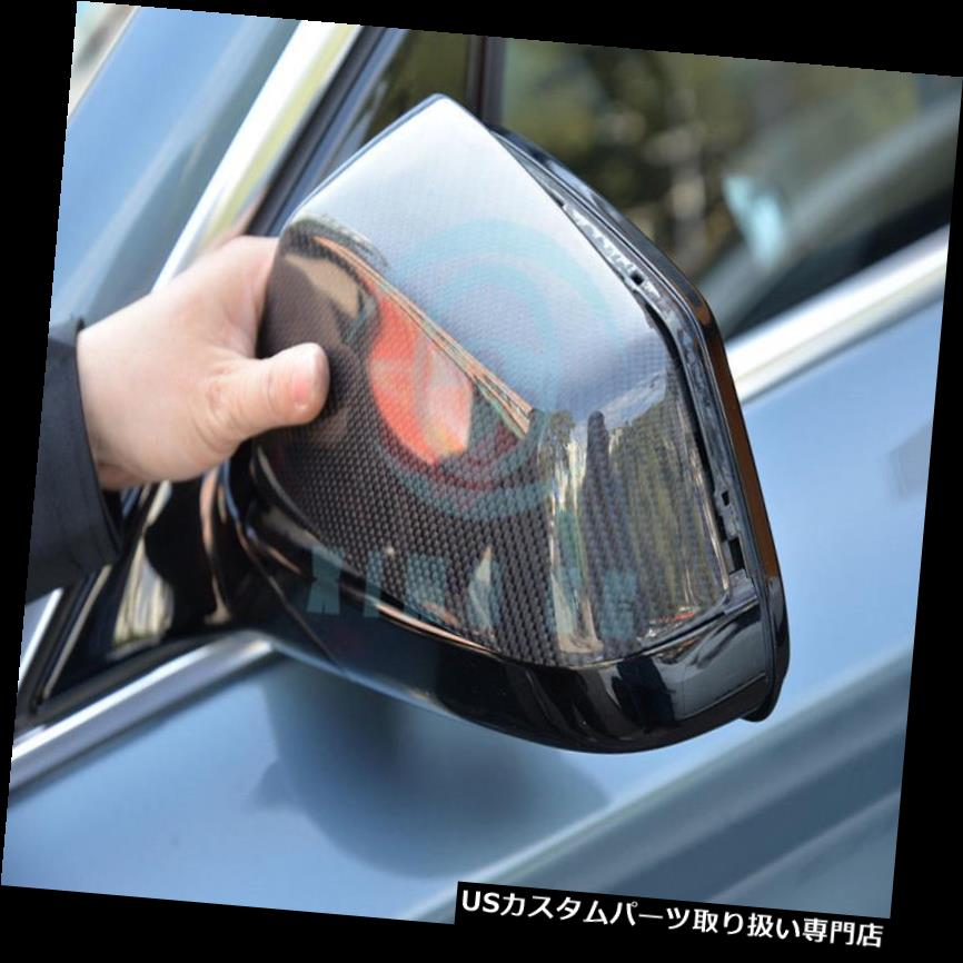 GTウィング 完全な取り替えのバックミラーはBMW 5Series GT F07のためのカーボン繊維をカバーします Full Replacement Rearview Mirror Covers Carbon Fiber For BMW 5Series GT F07