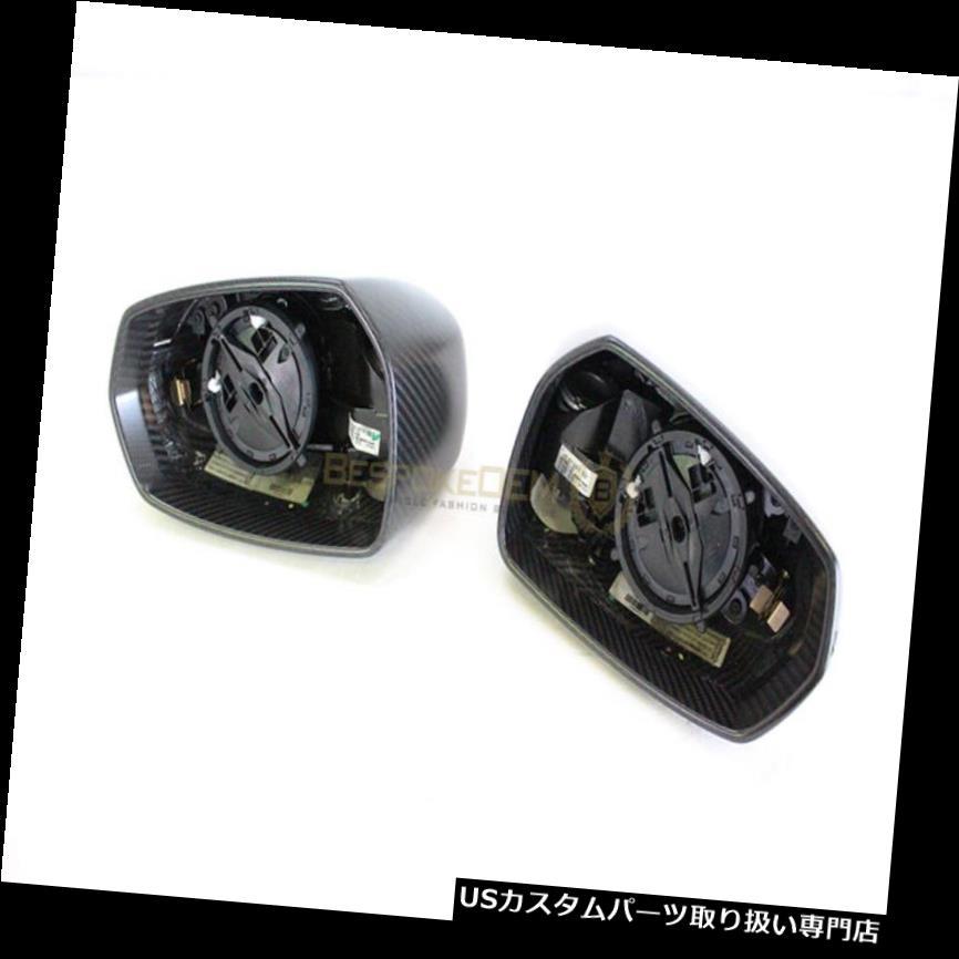 GTウィング 本物のアウディR8 GTマットカーボンウィングミラーInc内部2012+(ペア) Genuine Audi R8 GT Matte Carbon Wing Mirrors Inc Internals 2012+ (Pair)