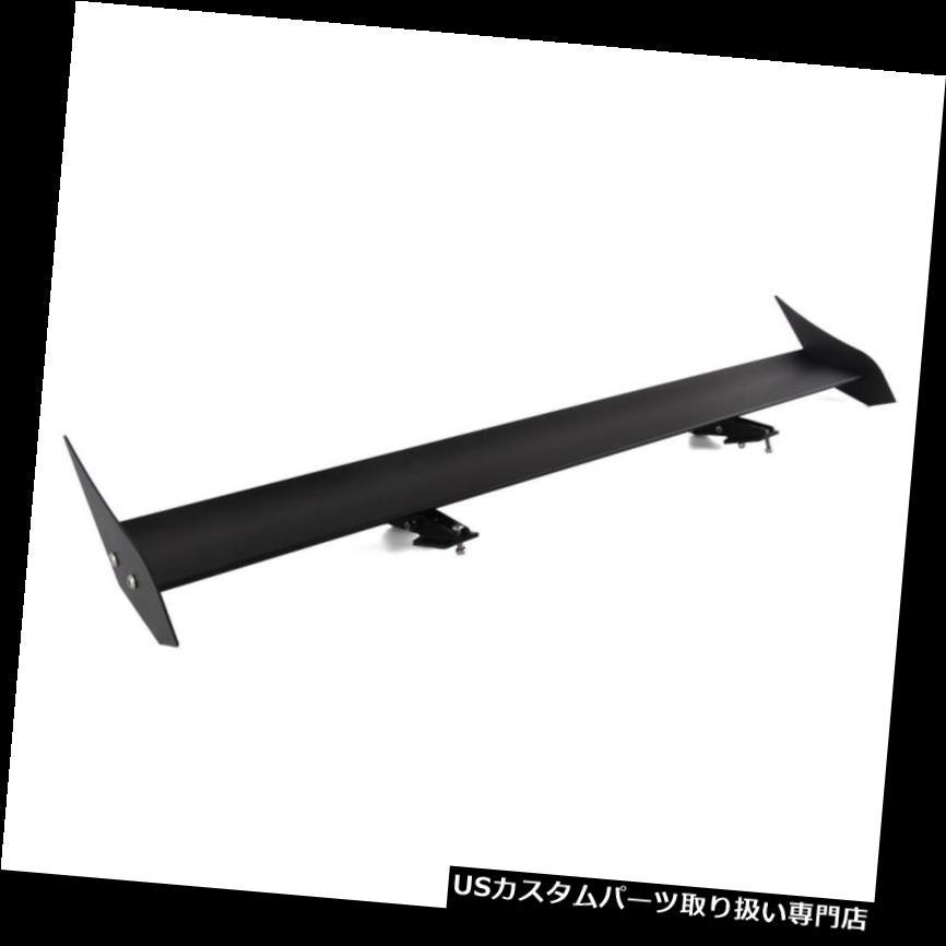 GTウィング 110cm / 43.3インチカーGTリアウイングスポイラーシングルデッキ軽量ユニバーサルブラック 110cm/43.3