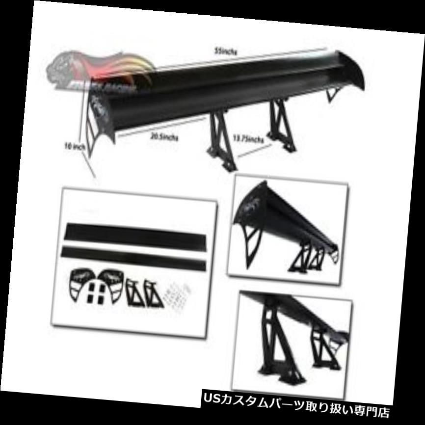 GTウィング GS200T / 300/350  / 400/430/450 / G  SF / ISF用GTウイングタイプSレーシングリアスポイラーブラック GT Wing Type S Racing Rear Spoiler BLACK For GS200T/300/350/400/430/450/GSF/ISF
