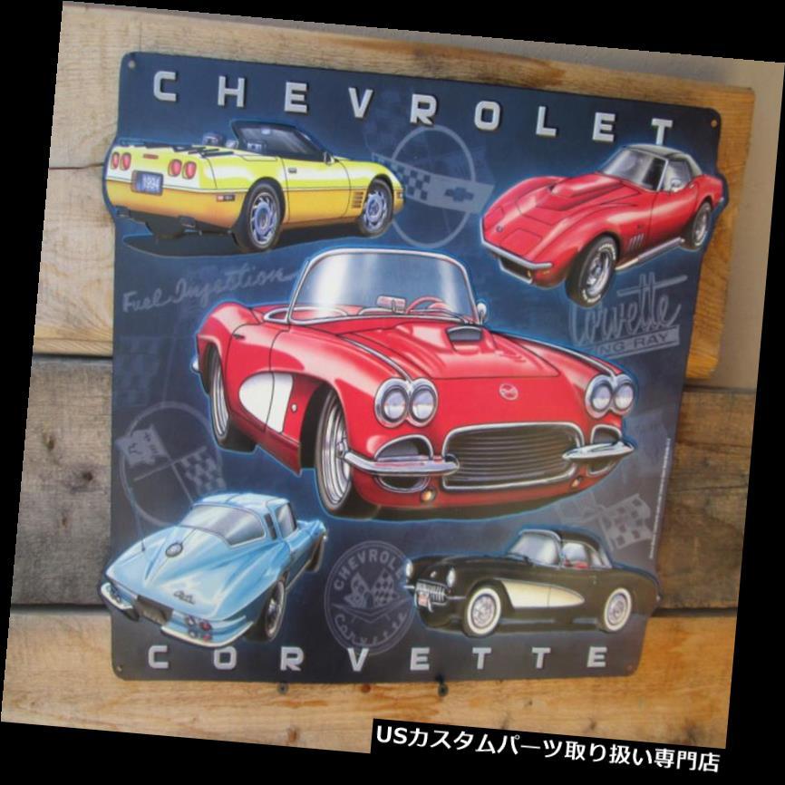 GTウィング シボレーコルベットメタルディスプレイC2エンブレムフラグ獣医GM ZR1シボレーマン洞窟  Chevrolet Corvette Metal Display C2 Emblems Flags vette GM ZR1 Chevy Man cave