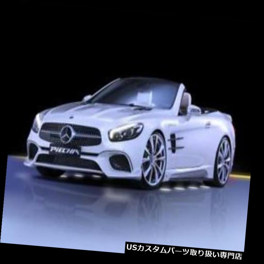 GTウィング PIECHA GT-RフロントカップウイングスメルセデスSL R231 abフェイスリフト PIECHA GT-R Front Cup Wings f?r Mercedes SL R231 ab Facelift