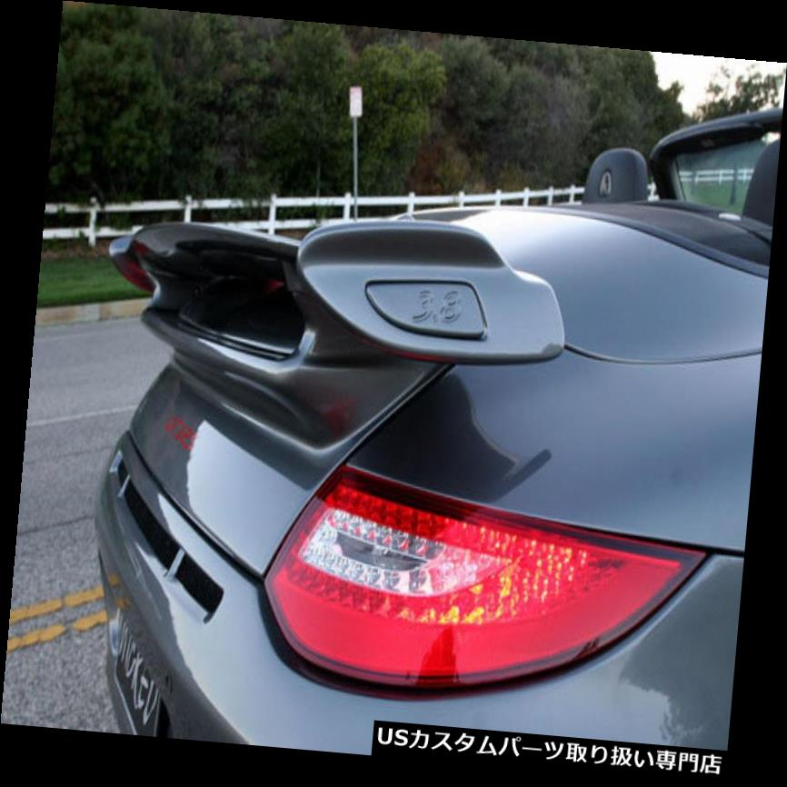 GTウィング ポルシェ997.2 GT3スタイルのトランクと 997カレラ用ウィングスポイラー(Coupe& Cabriolet) Porsche 997.2 GT3 Style Trunk & Wing Spoiler for 997 Carrera (Coupe & Cabriolet)