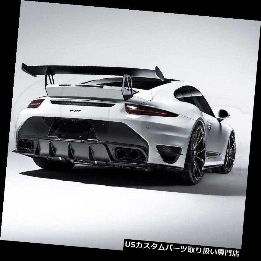 GTウィング FRPベースとポルシェカレラ991 VS 911ターボV-TRスタイルトランクスポイラーGTウィング Porsche Carrera 991 VRS 911 Turbo V-RT Style Trunk Spoiler GT Wing with FRP Base