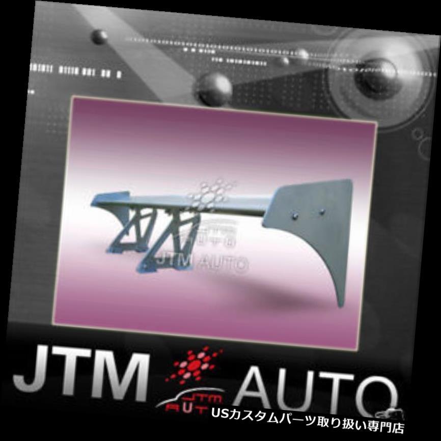 GTウィング ユニバーサルアルミシルバーウィングリアGTスポイラー002 UNIVERSAL ALUMINUM SILVER WING REAR GT SPOILER 002