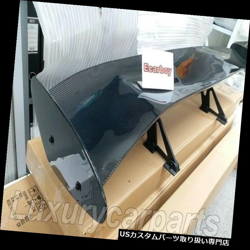 大割引 GTウィング 普遍的なカーボン繊維の幅57.1の「6.7」ブラケットが付いている後部翼のトランクのスポイラー UNIVERSAL CARBON FIBER WIDTH 57.1