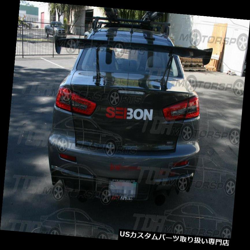 GTウィング SEIBONユニバーサルカーボンファイバーリアスポイラー/ウイングGT SEIBON Universal Carbon Fiber Rear Spoiler/Wing GT