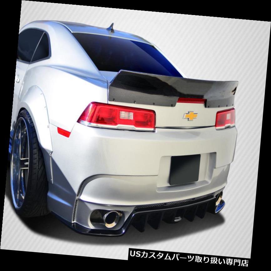 GTウィング 14-15シボレーカマロGTコンセプトカーボンファイバーボディキットウィング/スポイル er !!! 109928 14-15 Chevrolet Camaro GT Concept Carbon Fiber Body Kit-Wing/Spoiler!!! 109928