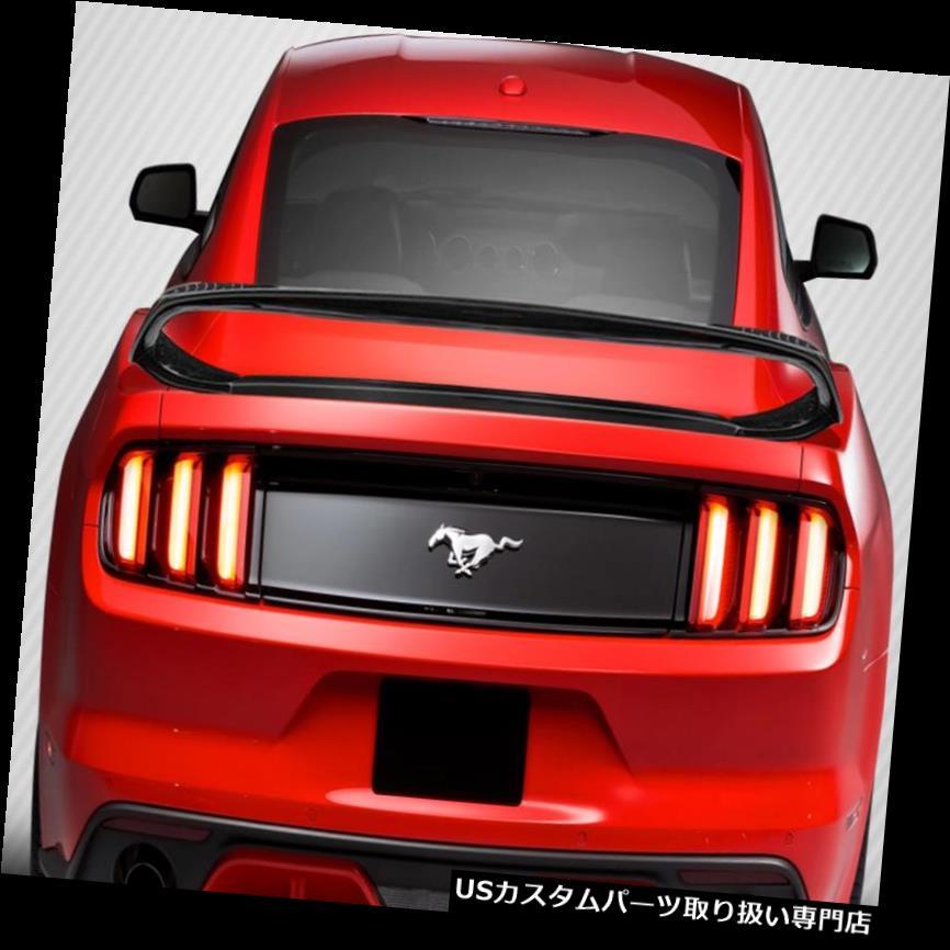 GTウィング 15-18フォードマスタングGT350ルックカーボンファイバーボディキットウイング/スポイル er !!! 113405 15-18 Ford Mustang GT350 Look Carbon Fiber Body Kit-Wing/Spoiler!!! 113405