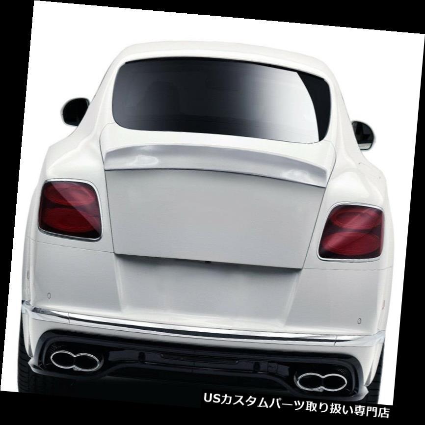 GTウィング 12-17ベントレーコンチネンタルGT AF-1エアロファンクションボディキット - ウイング スポイル er 113736 12-17 Bentley Continental GT AF-1 Aero Function Body Kit-W