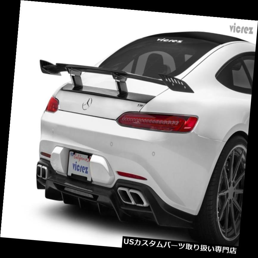 GTウィング VicrezメルセデスAMG GT S C 2016-2018 LVカーボンファイバーリアウイングスポイラーvz101046 Vicrez Mercedes-AMG GT S C 2016-2018 LV Carbon Fiber Rear Wing Spoiler vz101046