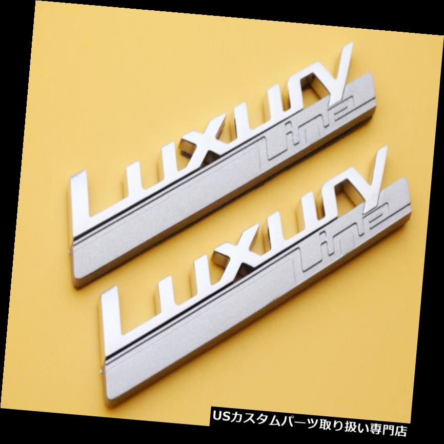 GTウィング LUXURY LINE WINGバッジフェンダーサイドL / RエンブレムデカールBMW用1 2 3 4 F Series GT LUXURY LINE WING Badge Fender Side L/R Emblems Decal for BMW 1 2 3 4 F Series GT
