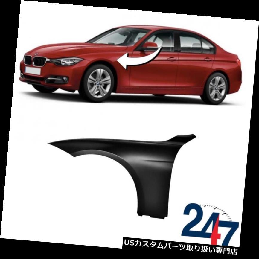 GTウィング ニューBMW 3シリーズF30 F31 F34 GT 2011 - 2018プライムフロントウィングフェンダー左N / S NEW BMW 3 SERIES F30 F31 F34 GT 2011 - 2018 PRIMED FRONT WING FENDER LEFT N/S