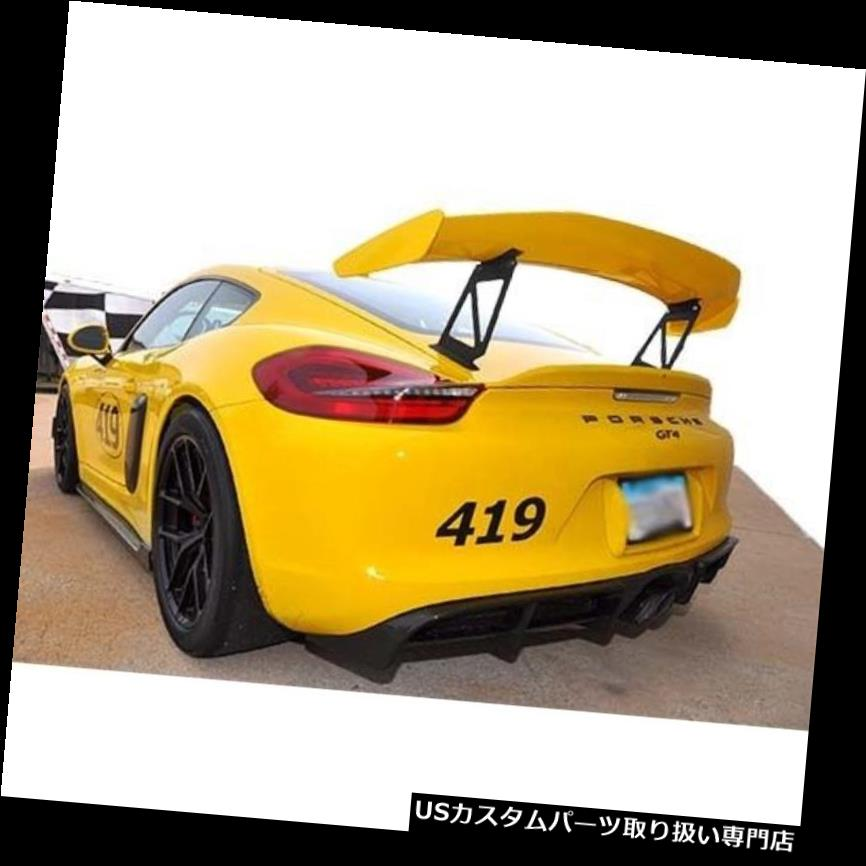 GTウィング 4月パフォーマンスケイマンGT4ファクトリーウィングエクステンション(ガーニーフラップなし)AA-545050 APR Performance Cayman GT4 Factory Wing Extension (No Gurney Flap) AA-545050