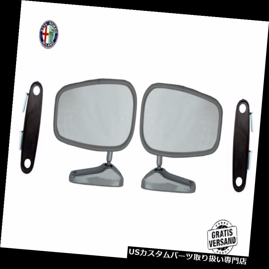 GTウィング 2X Specchietto Retrovisore Fiat 124 128 130ラグノユニバーシティAmpia Piede LH Rh 2X Specchietto Retrovisore Fiat 124 128 130 Ragno Universale Ampia Piede LH Rh