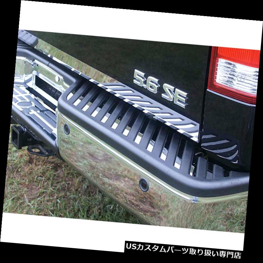 リアステップバンパー 31 p高級FXクロームリアバンパーインサート(ステップトリムフィットあり)(2004-2015日産Tit) 31p Luxury FX Chrome Rear Bumper Insert w/Step Trim fit for 2004-2015 Nissan Tit