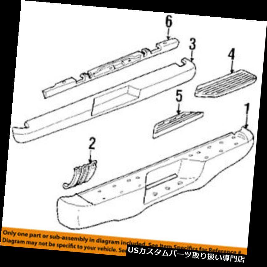リアステップバンパー 1998-1999 YUKON DENALIドライバーサイドリアバンパーブラックステップパッドニューGM#15738679 1998-1999 YUKON DENALI DRIVERS SIDE REAR BUMPER BLACK STEP PAD NEW GM # 15738679