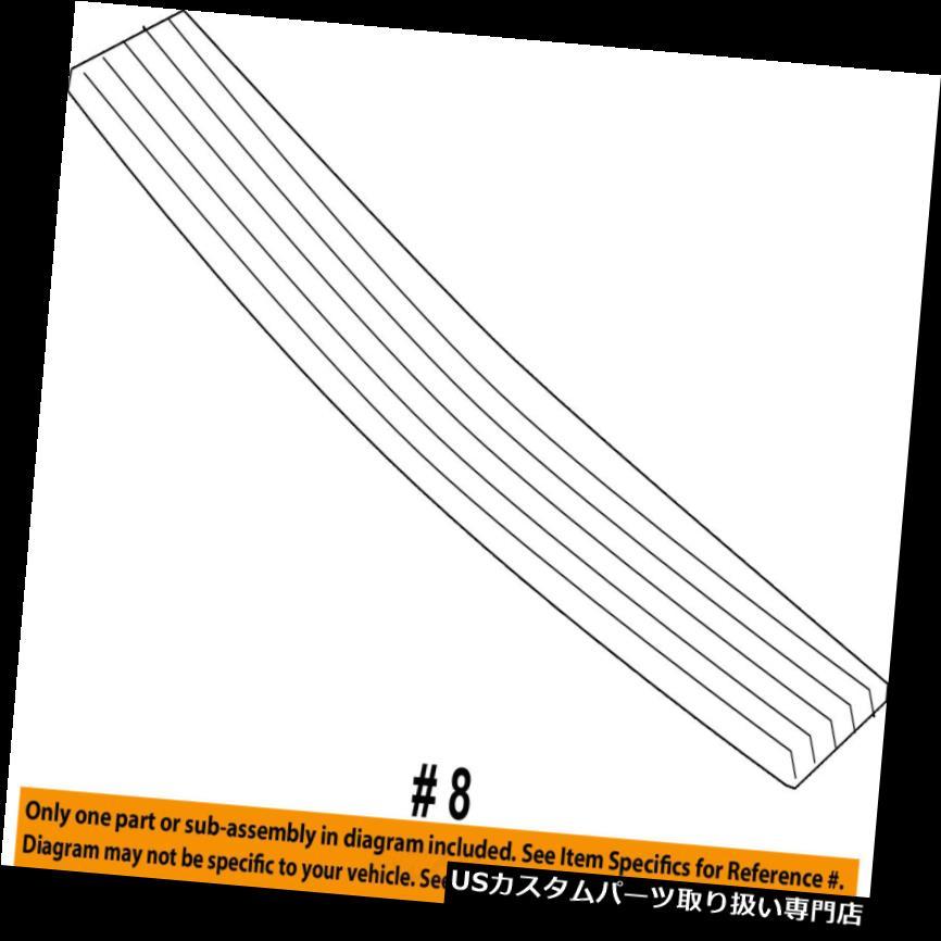 リアステップバンパー リアバンパーステップパッドプロテクタースクラッチガードカバー2L7Z17B807AAA Rear Bumper-Step Pad Protector Scratch Guard Cover 2L7Z17B807AAA