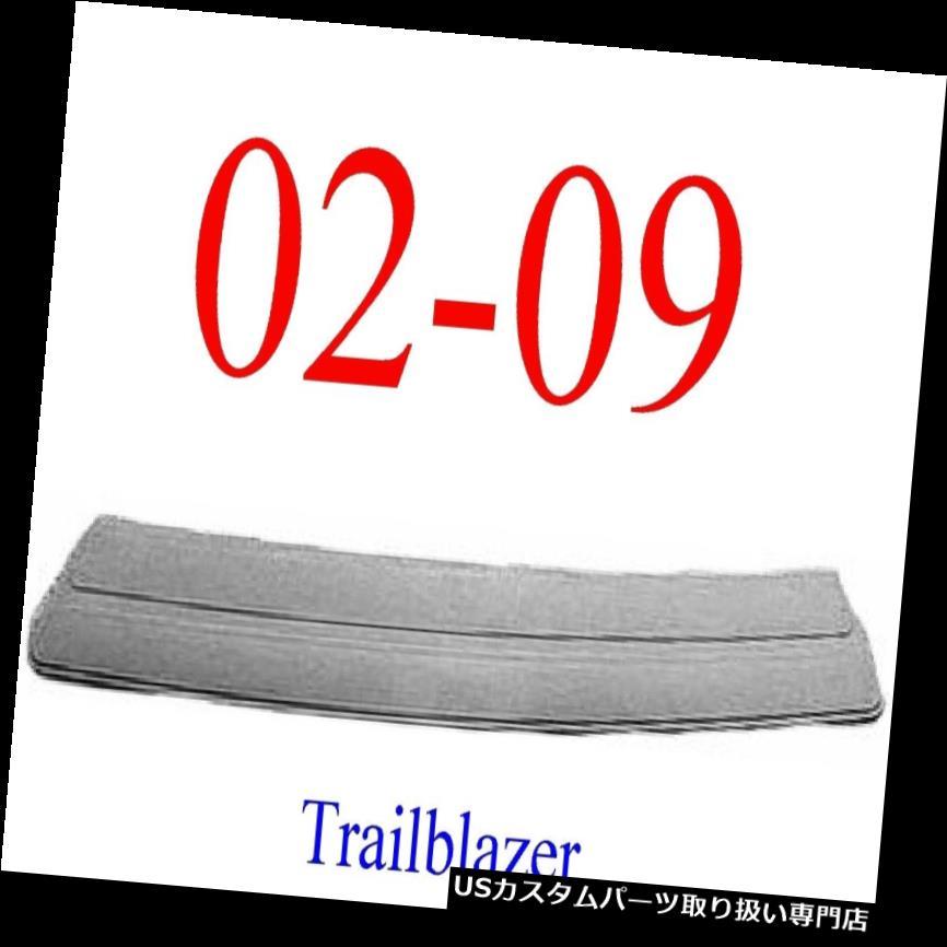 リアステップバンパー 02 09シボレートレイルブレイザーリアセンターステップパッド、グレーGM1191108 02 09 Chevy Trailblazer Rear Center Step Pad, Grey GM1191108