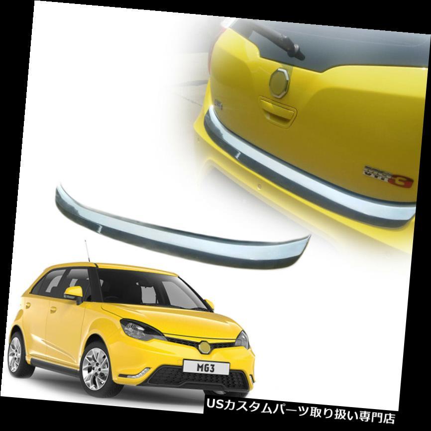 リアステップバンパー FIT 2015-2016 MG3 MG 3リアバックバンパーステップカバートリムクロームカラー FIT 2015-2016 MG3 MG 3 Rear back Bumper Step Cover Trim Chrome Color