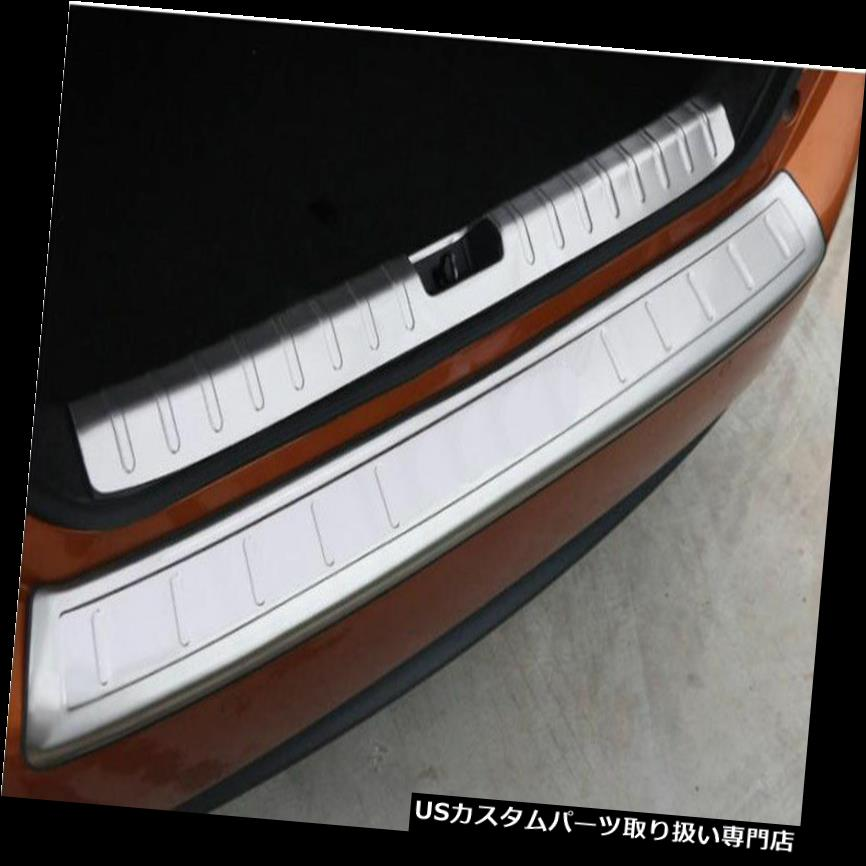 リアステップバンパー ホンダシビック2016のための2X出入りのリアバンパープロテクタートランクステッププレートカバー 2X Out And In Rear Bumper Protector Trunk Step Plate Cover For Honda Civic 2016