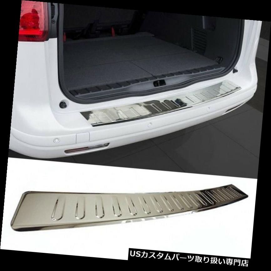 リアステップバンパー VW GTIウサギMK5リアバンパーステンレスプロテクターガードトリムカバークローム -  VW GTI Rabbit MK5 Rear Bumper Stainless Steel Protector Guard Trim Cover Chrome-